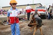 مانور خردسالان هلالاحمر/ گزارش تصویری