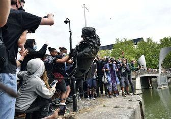 تظاهرات ضد نژادپرستی در سراسر جهان/سرنگونی مجسمههای نماد نژادپرستی