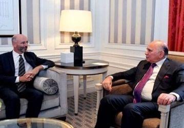 رایزنی رابرت مالی و فواد حسین درباره روابط ایران_آمریکا