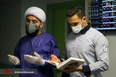 مراسم احیاء شب قدر در بیمارستانهای قم
