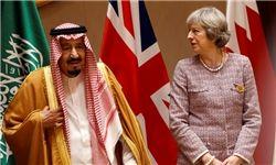 امضای موافقنامه نظامی و همکاری امنیتی بین عربستان و انگلیس