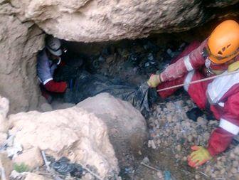 مرگ مرد میانسال در غار، به علت خفگی با گاز