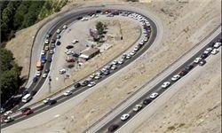 وضعیت ترافیک در محورهای هراز و چالوس