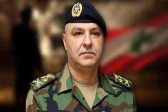 فرمانده ارتش لبنان به آمریکا سفر کرد
