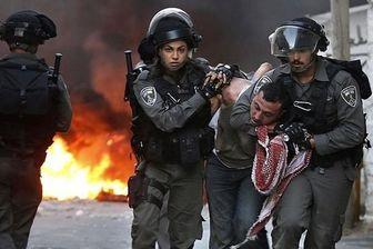 یورش اشغالگران صهیونیست به مردم فلسطین