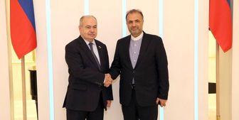 دیدار جلالی با معاون رئیس شورای فدراسیون روسیه