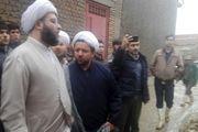 بازدید نماینده ویژه مقام معظم رهبری از مناطق سیل زده گلستان