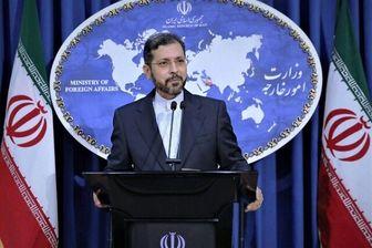 خطیبزاده: به هیچ وجه اجازه انتقال سلاح و مهمات از خاک ایران داده نمیشود