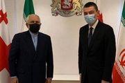 دیدار ظریف با نخست وزیر گرجستان