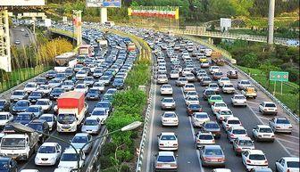 آخرین وضعیت ترافیکی معابر سطح شهر تهران