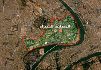 پرواز بالگردهای آمریکایی در منطقه الخضراء بغداد بعد از حمله موشکی ایران