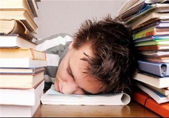 شب امتحان هنگام خواب نفس عمیق بکشید