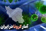 آمار کرونا در ایران در تاریخ 28 خرداد/ ۱۲۷ فوتی جدید کرونا در کشور