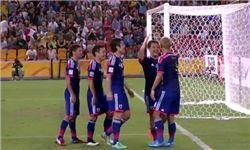 ترکیب تیم ملی فوتبال ژاپن برای بازی با ایران