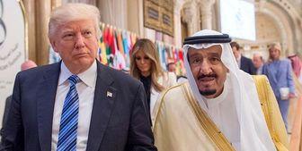 درخواست کثیف پادشاه سعودی از ترامپ