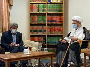 دیدار سردار قاآنی با مراجع عظام تقلید +عکس