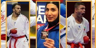 روایت فدراسیون جهانی از درخشش کاراتهکاهای ایران