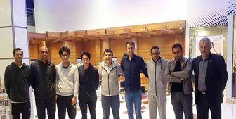داوران عمانی فینال لیگ قهرمانان وارد تهران شدند
