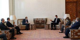 دستیار ارشد وزیر خارجه ایران با «بشار اسد» دیدار کرد