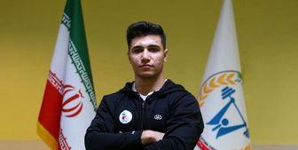درخشش خیره کننده نوجوان وزنه بردای ایرانی در جهان
