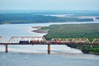 ساخت دومین پل میان کره شمالی و روسیه