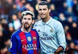 تمجید ستاره بارسلونا از رونالدو و مسی