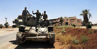 اسپوتنیک از عملیات ارتش سوریه علیه تروریستهای درعا خبر داد