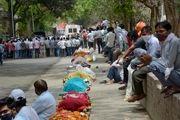 تعداد مبتلایان روزانه به کرونا در هند رکورد زد