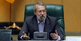 توضیحات لاریجانی درباره دو نماینده بازداشتی