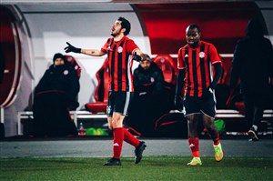 پاس گل عزتاللهی آمکار را به پیروزی رساند
