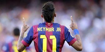بازگشت نیمار به بارسلونا