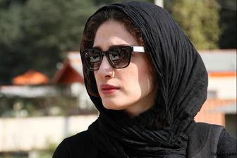 چهره غمزده مینا ساداتی روی پوستر فیلم پرسروصدای جشنواره 38/ عکس