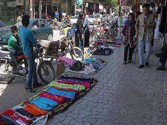 هجوم دست فروشان غیربومی به خیابانهای قم