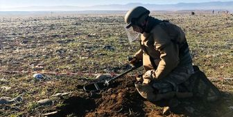 عملیات مین روبی ارتش ترکیه در قره باغ