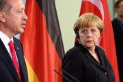 دیدار اردوغان و مرکل در سایه تظاهرات آلمانیها علیه رئیسجمهور ترکیه
