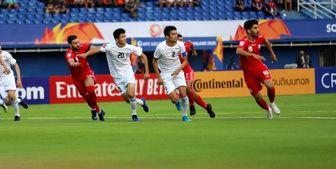تیم ملی امید ایران 1 ازبکستان 1 / توقف در اولین گام انتخابی المپیک