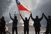 تب خفته اعتراضات در شیلی منتظر فروکش بحران کرونا است