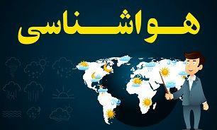 وضعیت آب و هوایی کشور در ۱۴ بهمن