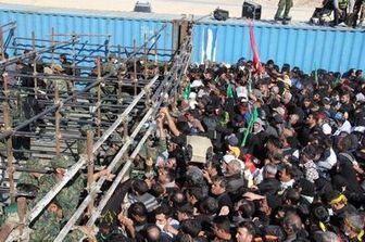 مرز مهران گنجایش حضور گسترده اتوبوسهای مسافری را ندارد