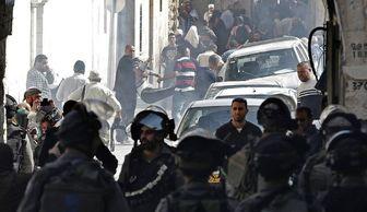 حمله صهیونیستها به مسجد الاقصی