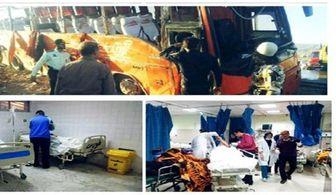 اسامی ۹ نفر از کشته شدگان واژگونی اتوبوس دانش آموزان