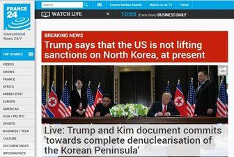 فعلا از لغو تحریمهای کره شمالی خبری نیست