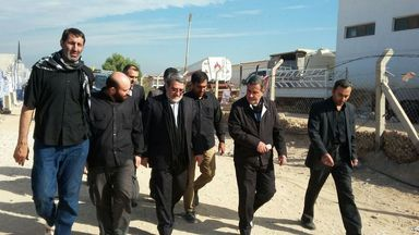 حضور وزیر کشور در موکب علی بن موسی الرضا (ع) عمود 657