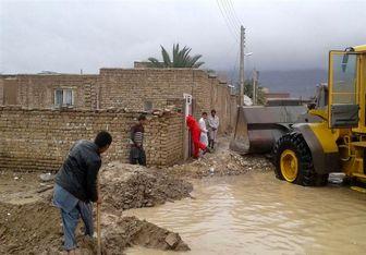 تخریب ۱۶۰ واحد مسکونی در پی بارندگی اخیر سیستان و بلوچستان + تصاویر