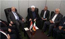 روحانی: ایران از هیچ کمکی برای ثبات و امنیت در عراق دریغ نمیکند