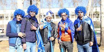 استقبال هواداران خوزستانی استقلال از کاروان این تیم