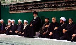 شام غریبان اباعبدالله الحسین(ع) در حسینیه امام خمینی(ره)