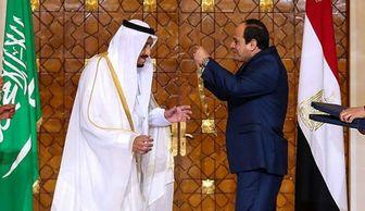 قلاده مصری بر گردن شاه سعودی! +عکس