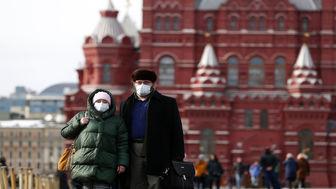 کاهش شمار قربانیان کرونا در روسیه