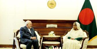ظریف و نخستوزیر بنگلادش درباره مسلمانان روهینگیا گفتگو کردند